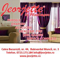Jeorjette - perdele, draperii, decoratiuni interioare